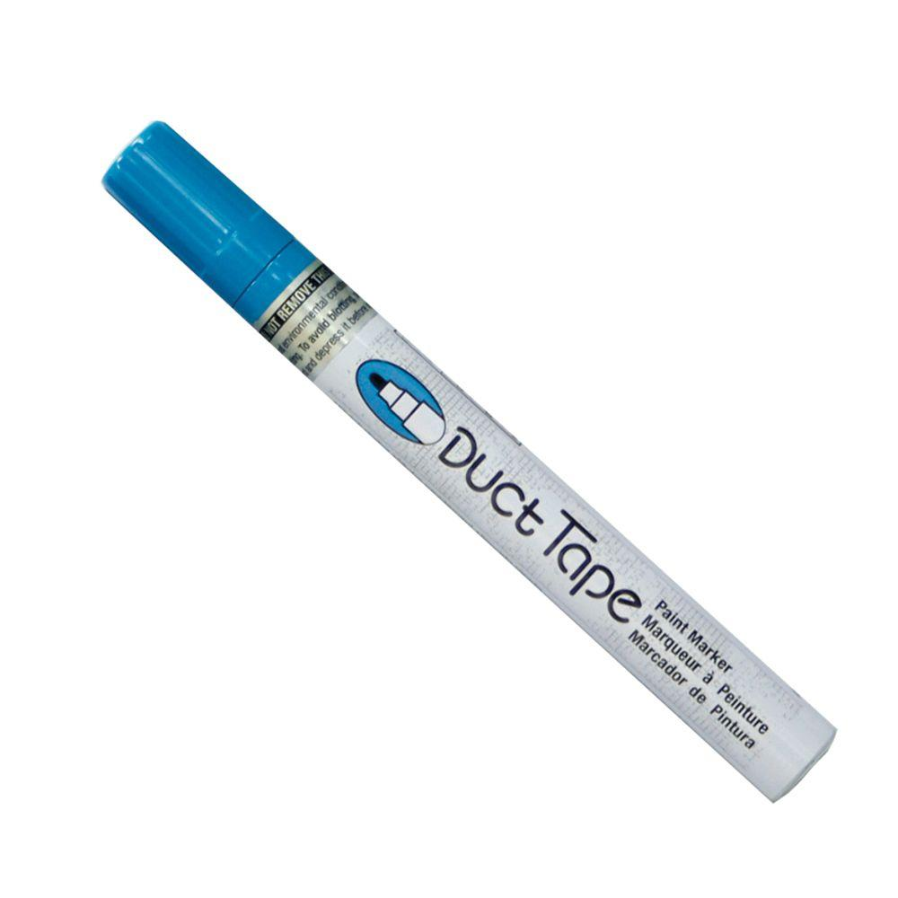 Marvy Uchida Light Blue Broad Point Duct Tape Paint Marker