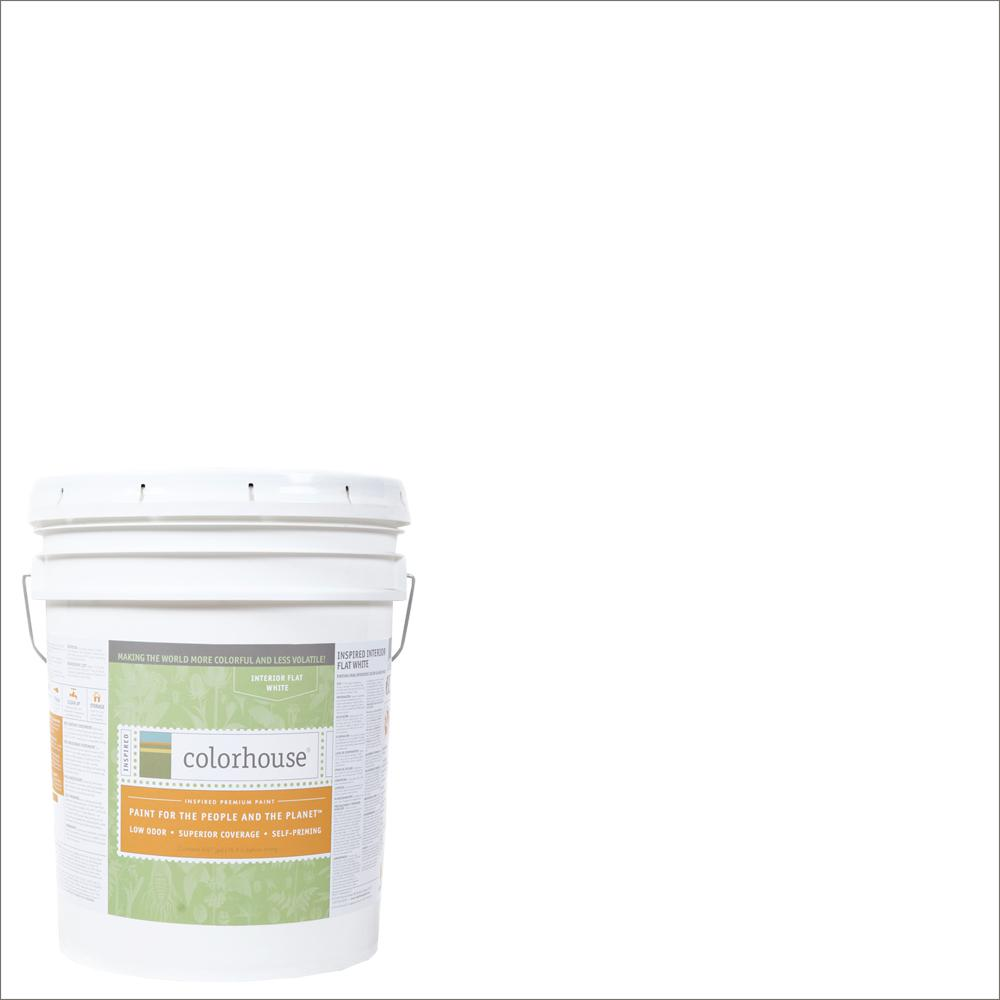 Colorhouse 5 gal. Bisque .01 Flat Interior Paint