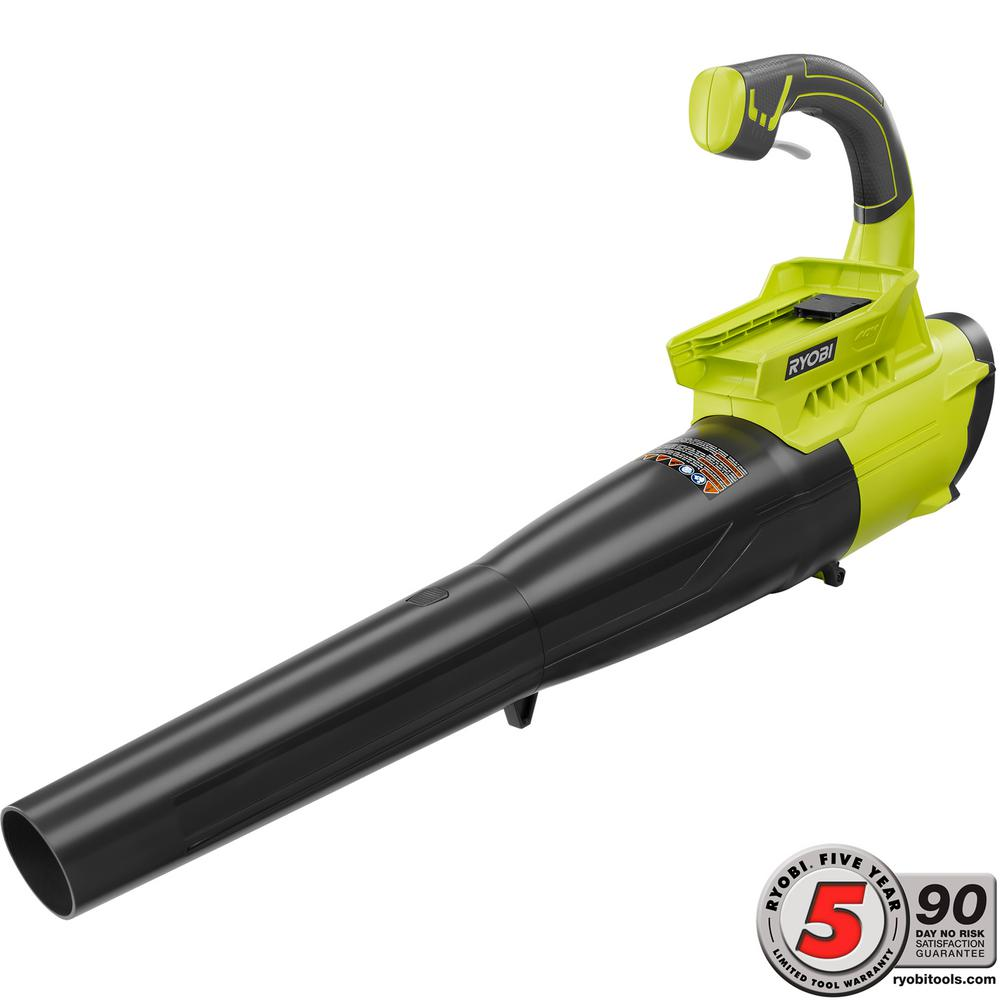 Ryobi 155 MPH 300 CFM 40-Volt Lithium-Ion Cordless Jet Fan Leaf Blower - Battery and Charger Not Included