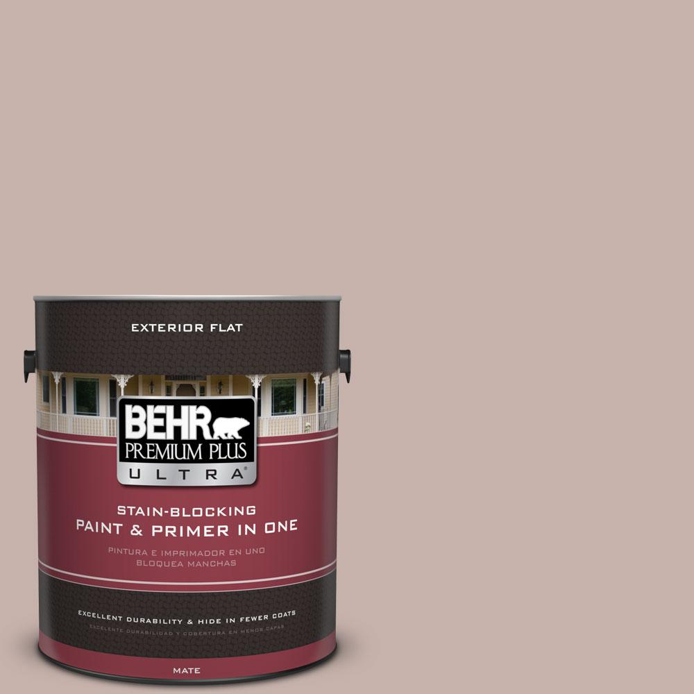 1-gal. #PPF-10 Balcony Rose Flat Exterior Paint