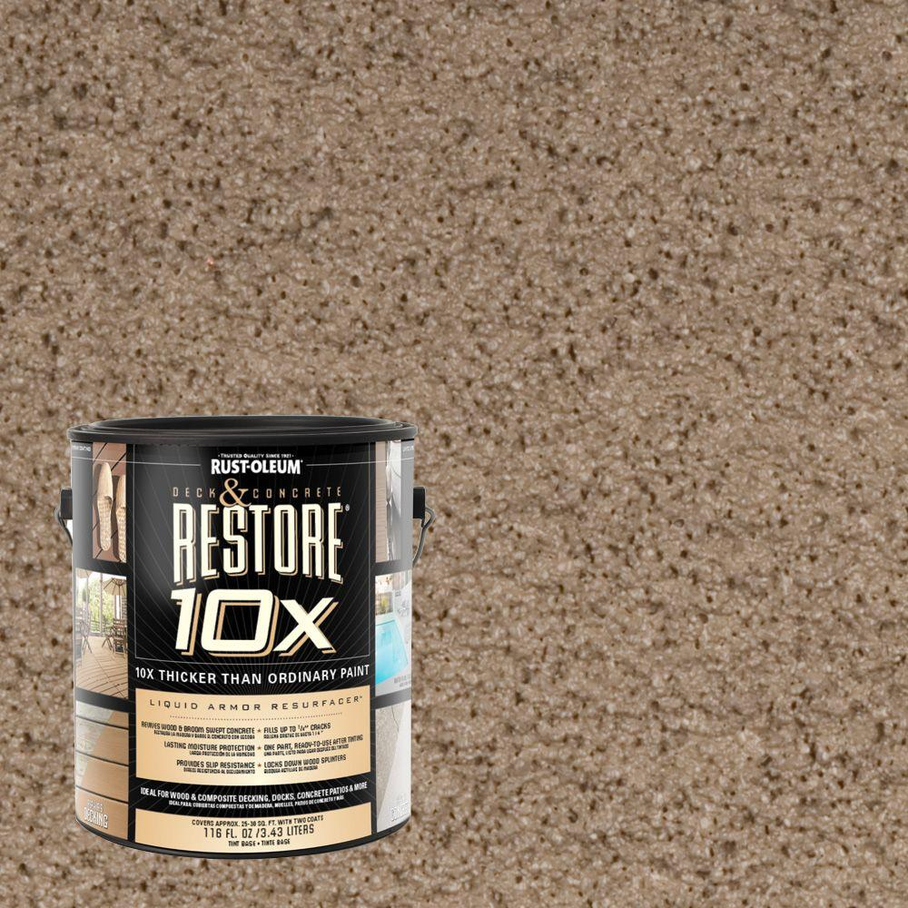 Rust-Oleum Restore 1-gal. Winchester Deck and Concrete 10X Resurfacer