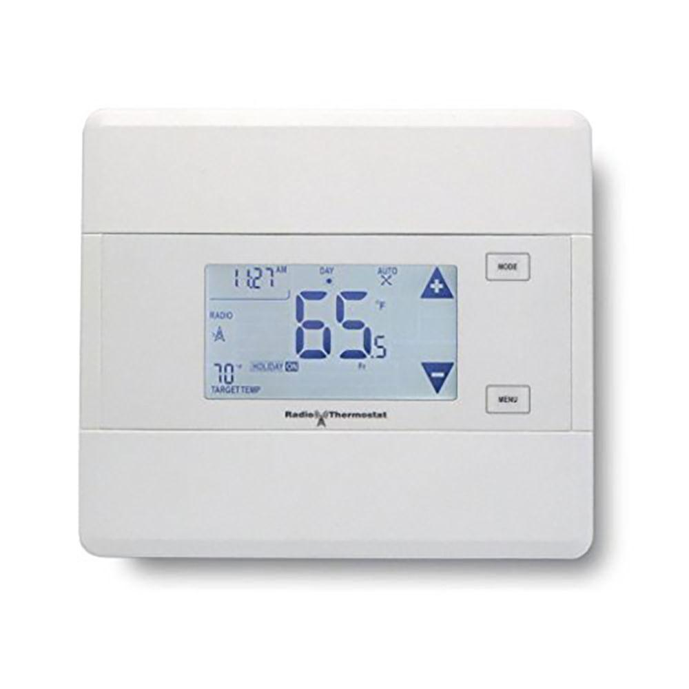 radio thermostat programmable thermostat with z wave 300 ct101 the home depot. Black Bedroom Furniture Sets. Home Design Ideas