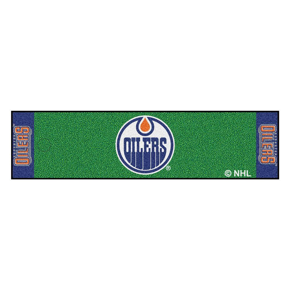 NHL Edmonton Oilers 1 ft. 6 in. x 6 ft. Indoor