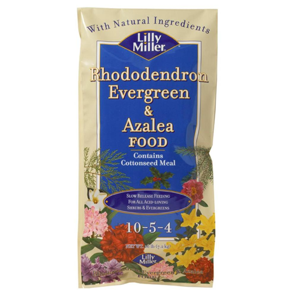 Lilly Miller 16 lbs. Rhododendron, Evergreen and Azalea Food