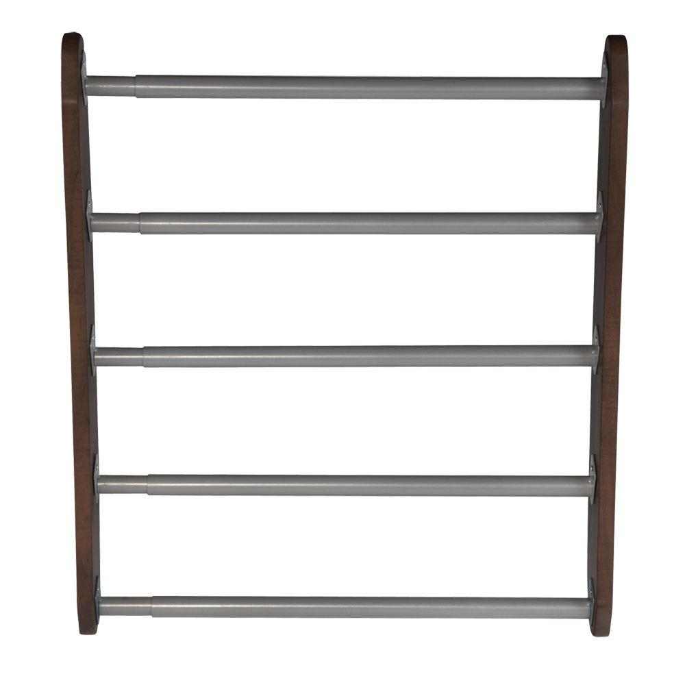 Martha Stewart Living 5 Rod Espresso Drying Rack-D15 - The Home