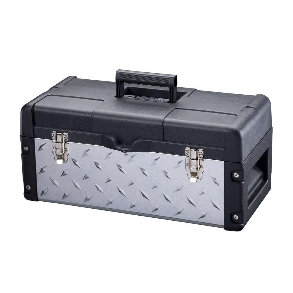 22 in. Galvanized Tool Box-DXG-22-1 - The Home Depot