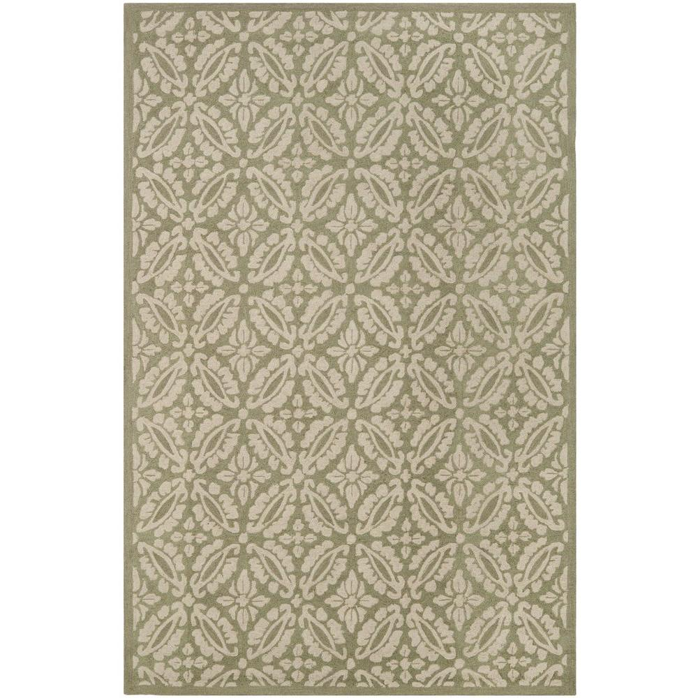 Safavieh Chelsea Sage 3 ft. 9 in. x 5 ft. 9 in. Area Rug