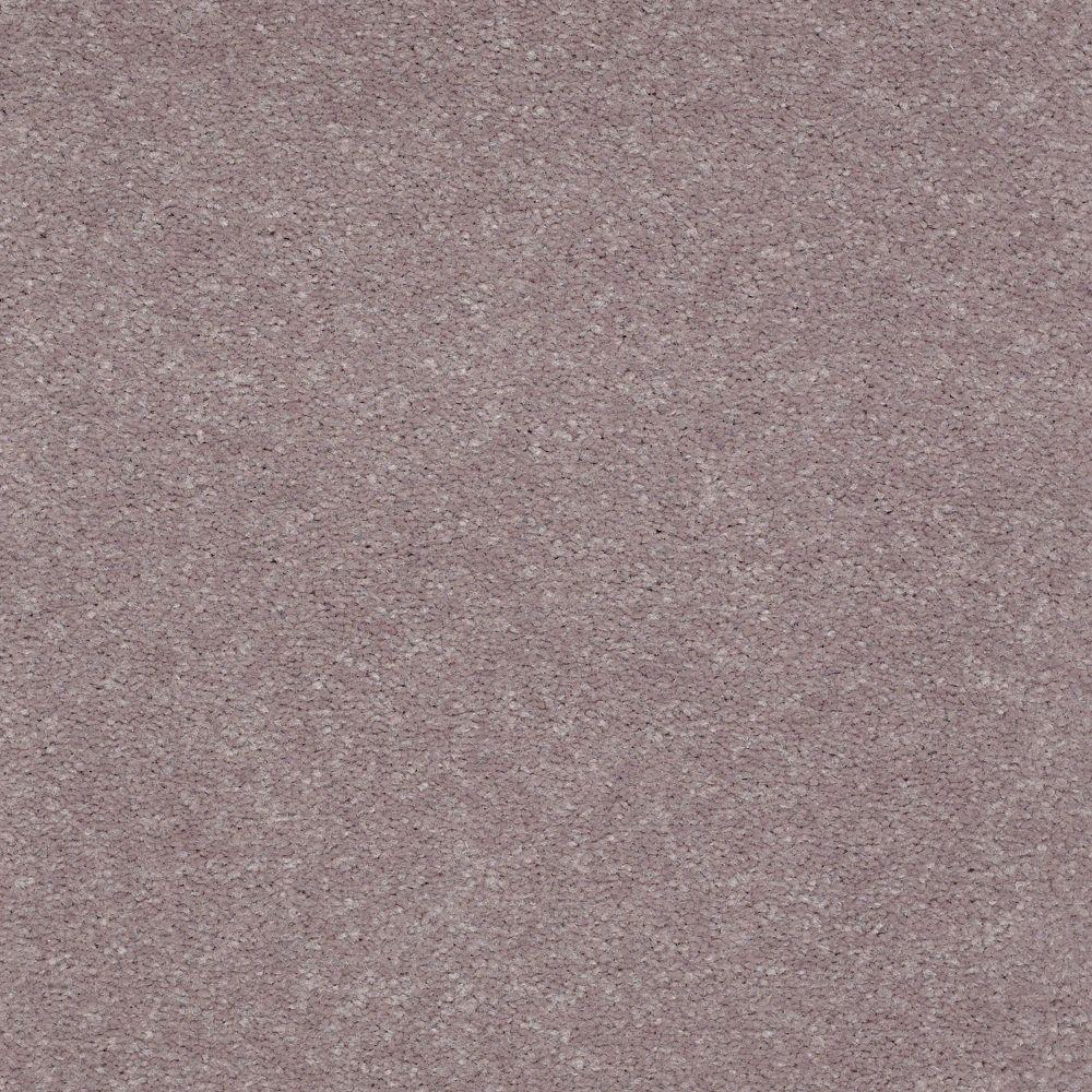 Carpet Sample-Enraptured II - Color Mountain Iris Texture 8 in x