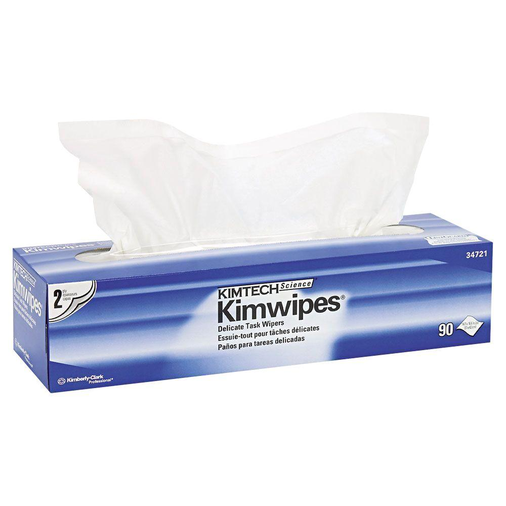 Science Kimwipes Delicate Task Wipers (90-Box)
