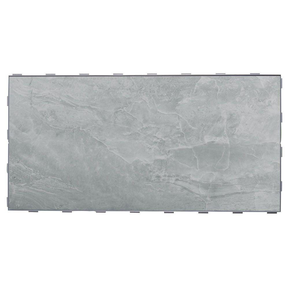 SnapStone Oyster Grey 12 in. x 24 in. Porcelain Floor Tile