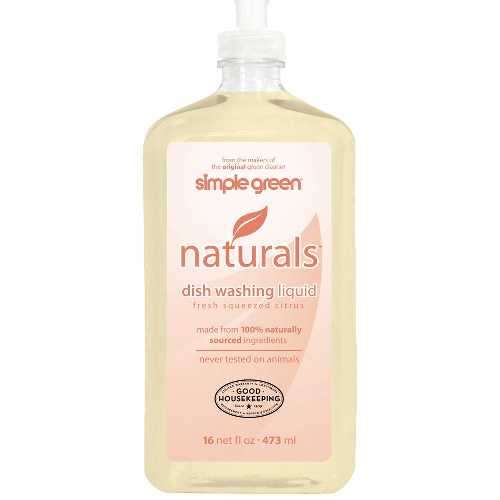 Simple Green 16 oz. Naturals Dish Washing Liquid (Case of 12)-DISCONTINUED