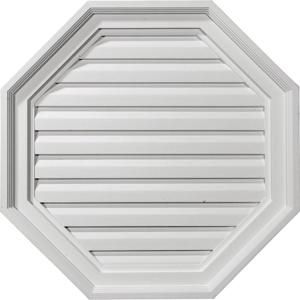 2-1/8 in. x 22 in. x 22 in. Decorative Octagon Gable