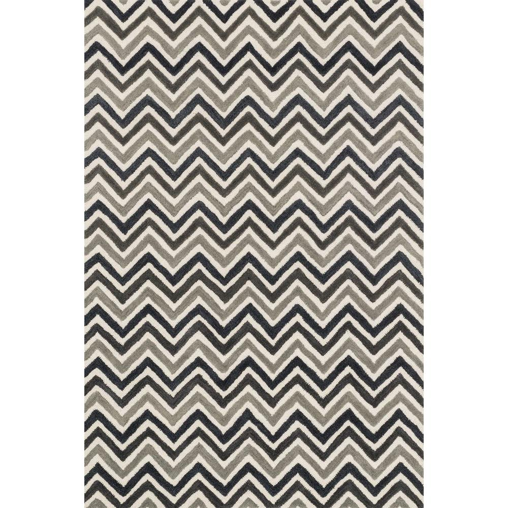 Weston Lifestyle Collection Ivory/Grey 2 ft. 3 in. x 3 ft.