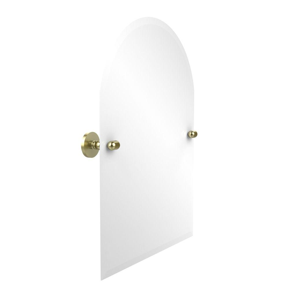 Allied Brass Tango Collection 21 in. x 29 in. Frameless Arched