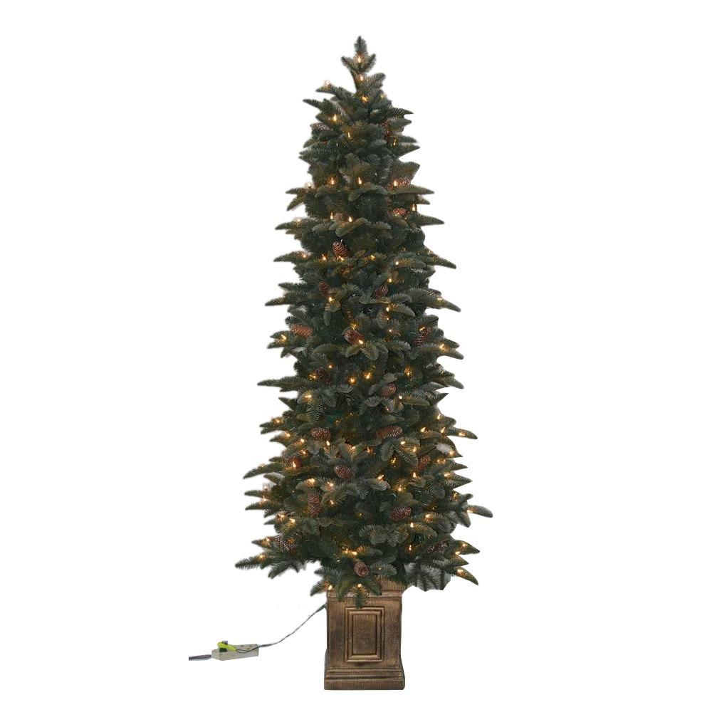 National Tree Company 6.5 ft. Kingswood Fir Pencil ...