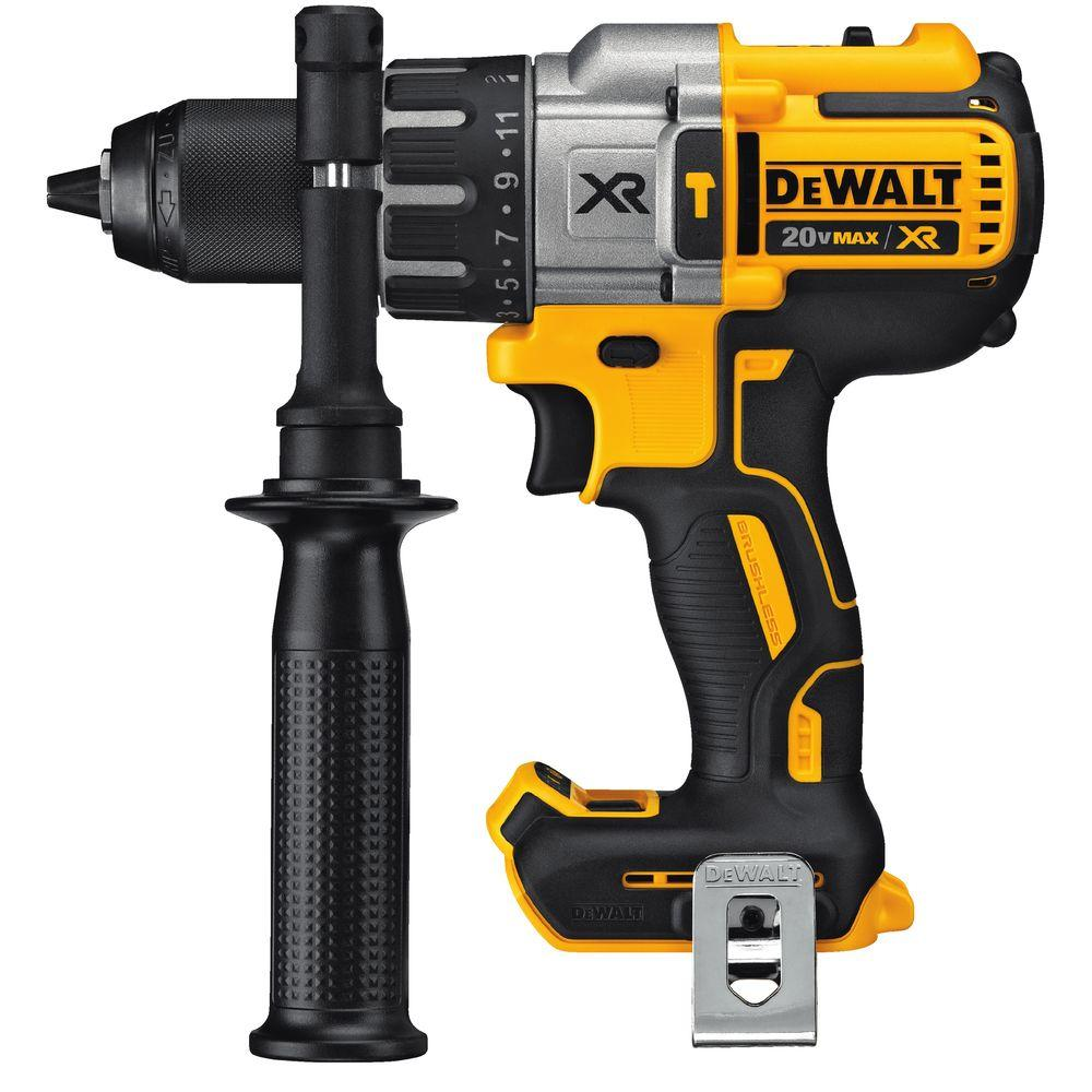 20-Volt MAX XR Lithium-Ion 1/2 in. Premium Cordless Brushless Hammer Drill