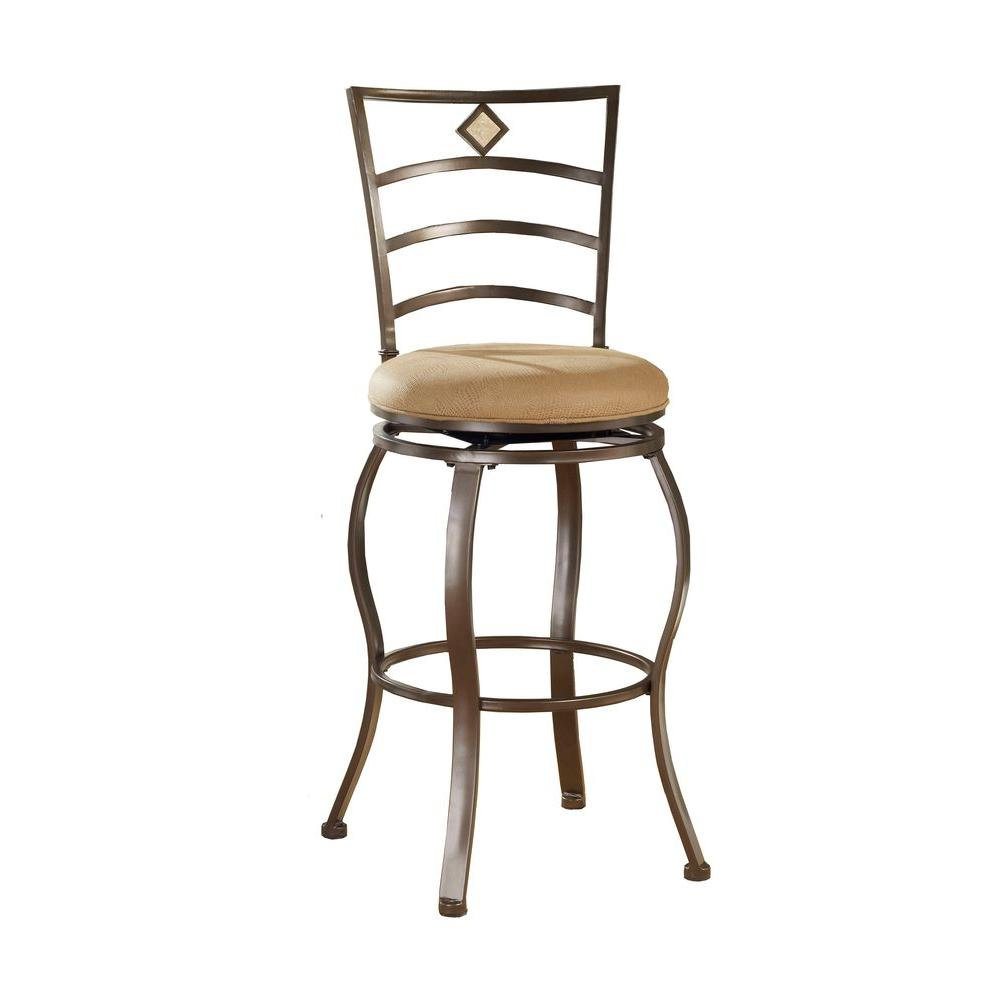 Hillsdale Furniture Marin Swivel Counter Bar Stool-DISCONTINUED