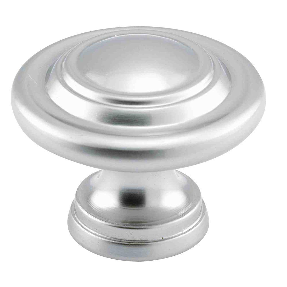 Prime-Line 1-11/16 in. Satin Nickel Plated Bi-Fold Door Knob