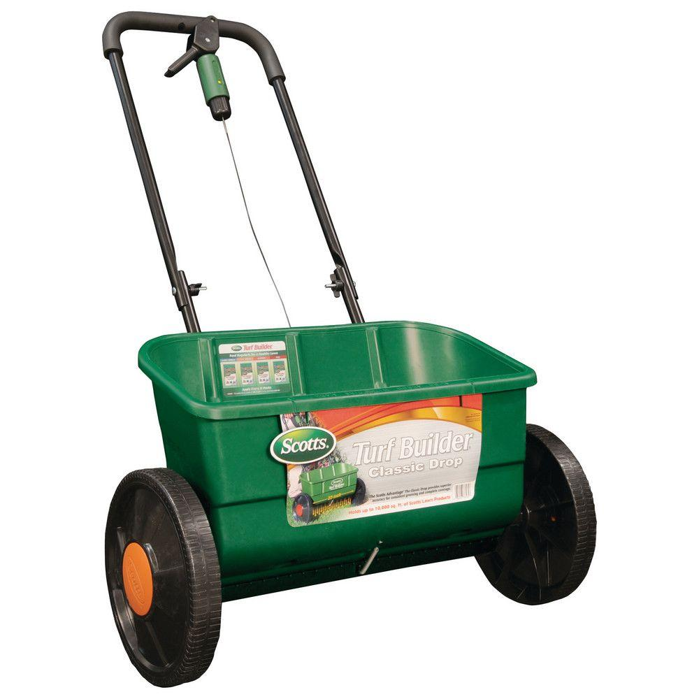 Scotts Turf Builder Classic Drop Spreader-76565 - The Home Depot