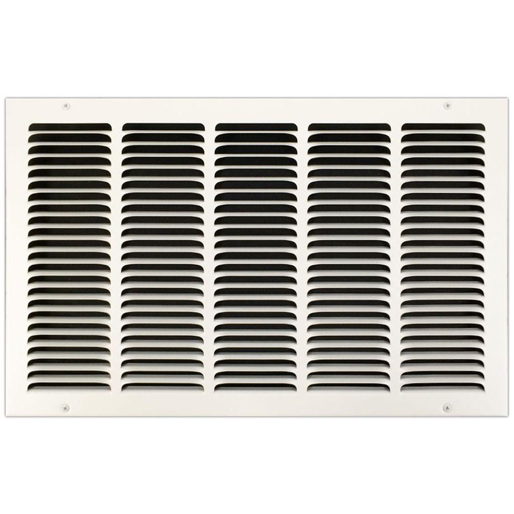 20 in. x 12 in. Return Air Vent Grille with Fixed