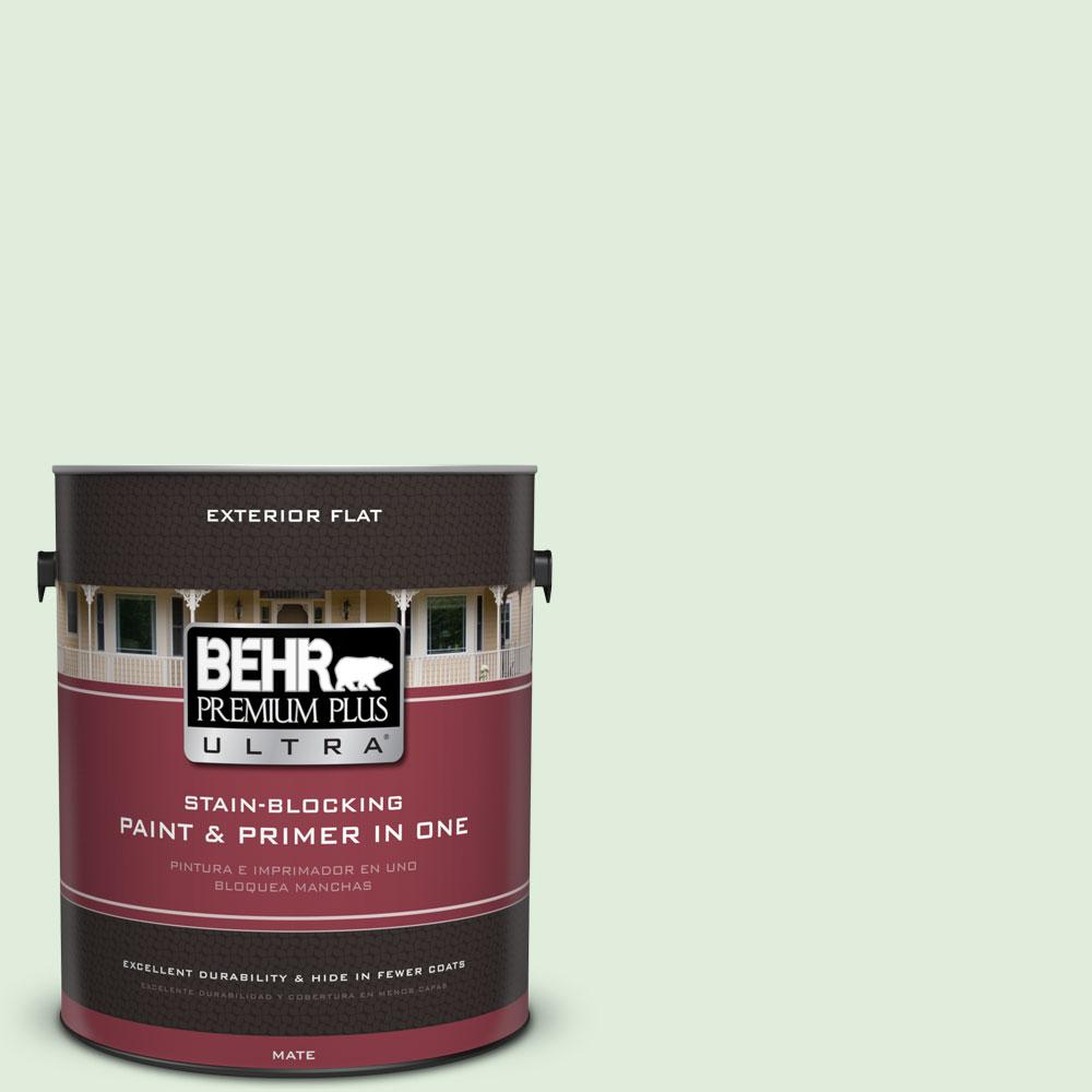 1-gal. #450C-2 Breath of Spring Flat Exterior Paint