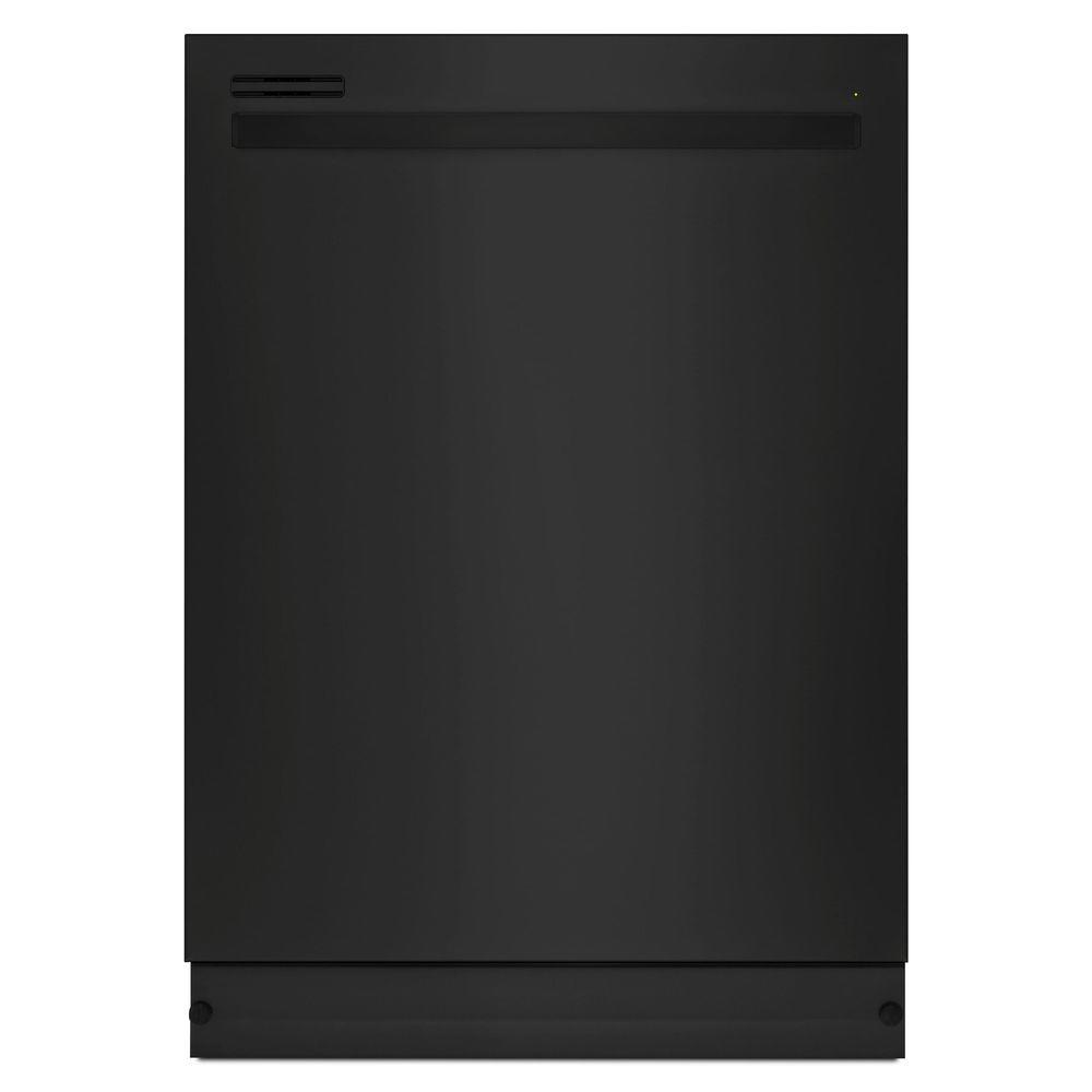 24 in. Top Control Dishwasher in Black