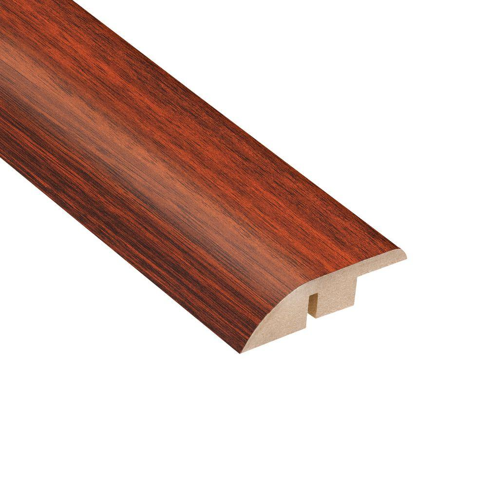 Home Legend High Gloss Brazilian Cherry 1/2 in. Thick x 1-3/4 in. Wide x 94 in. Length Laminate Hard Surface Reducer Molding