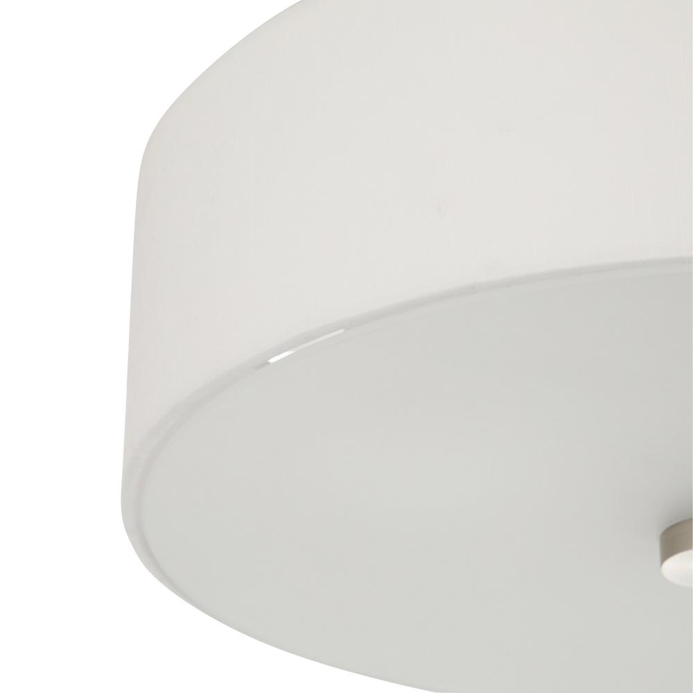 Flush mount light that comes with hanging hardware