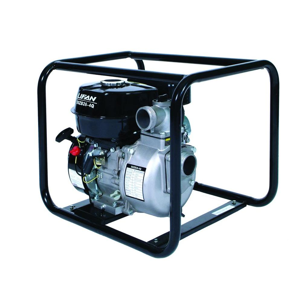 LIFAN 2 in. 6.5 HP Gas-Powered Utility Water Pump