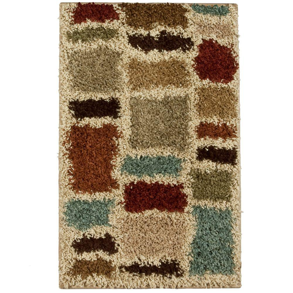 Orian Rugs Moodie Blues Multicolor 1 ft. 7 in. x 2 ft. 9 in. Accent Rug