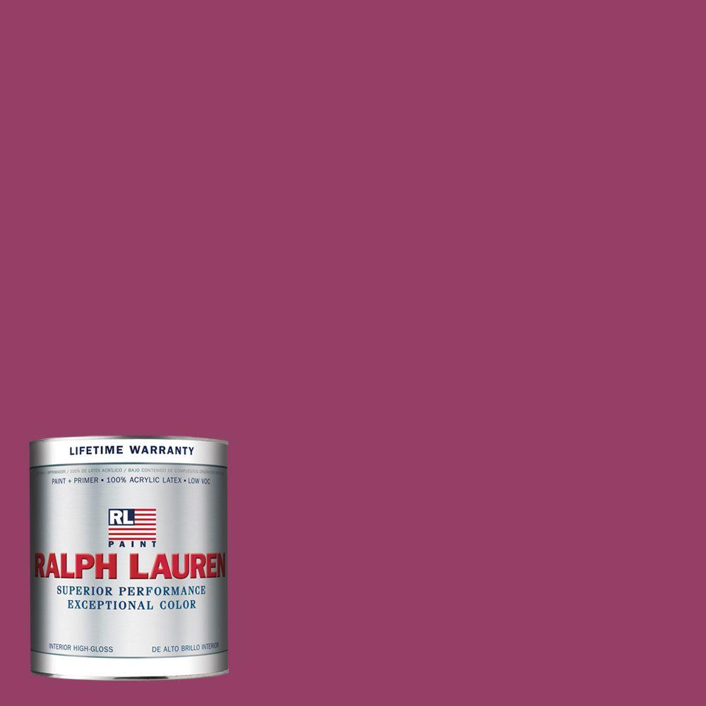 Ralph Lauren 1-qt. Racer Pink Hi-Gloss Interior Paint-RL2102-04H - The Home