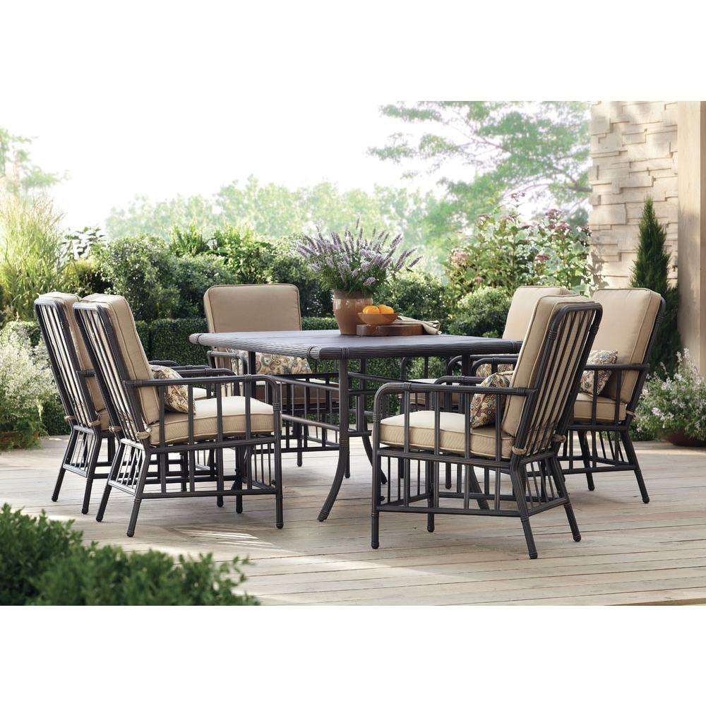 Martha Stewart Living Bryant Cove 7-Piece Patio Dining Set-DYBC-7PC - The