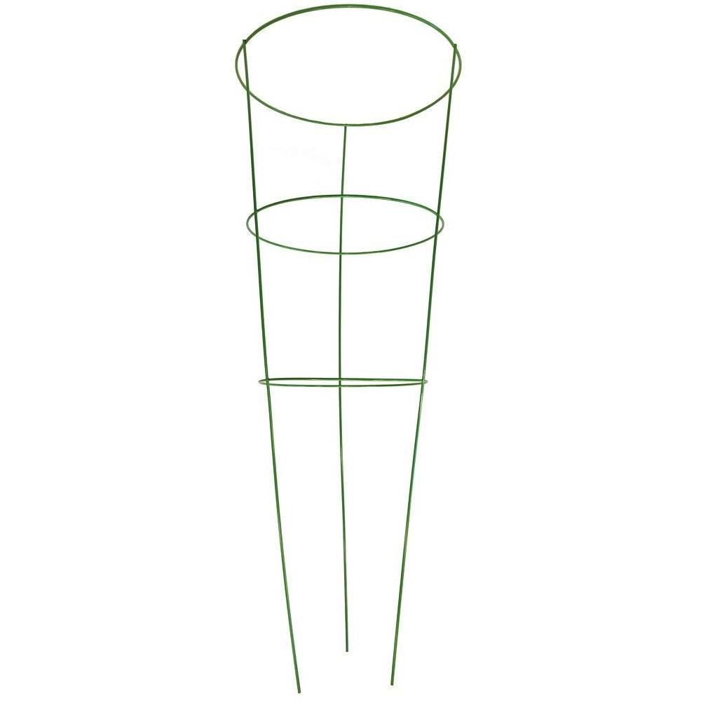 G&B 42 in. Heavy-Duty Green Tomato Cage