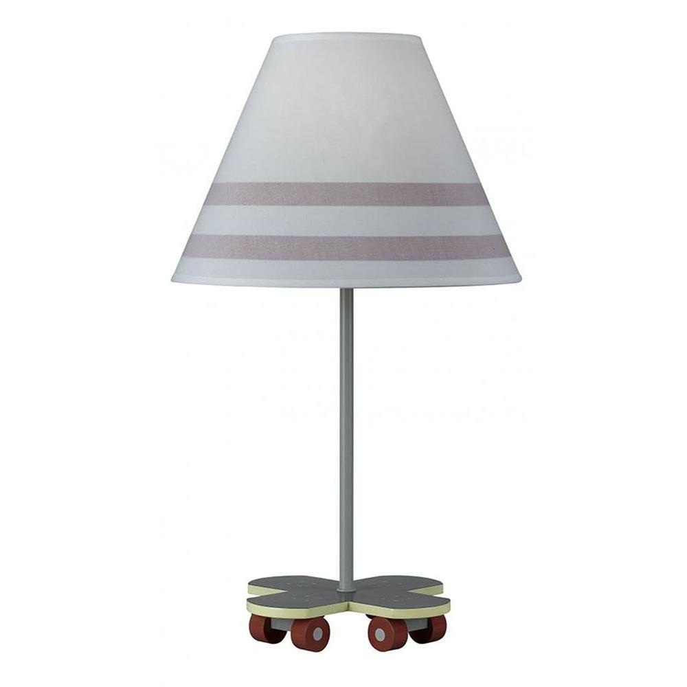 Filament Design Cooper 21 in. Gray Skate Board Novelty Lamp-CLI-DSS038550 -