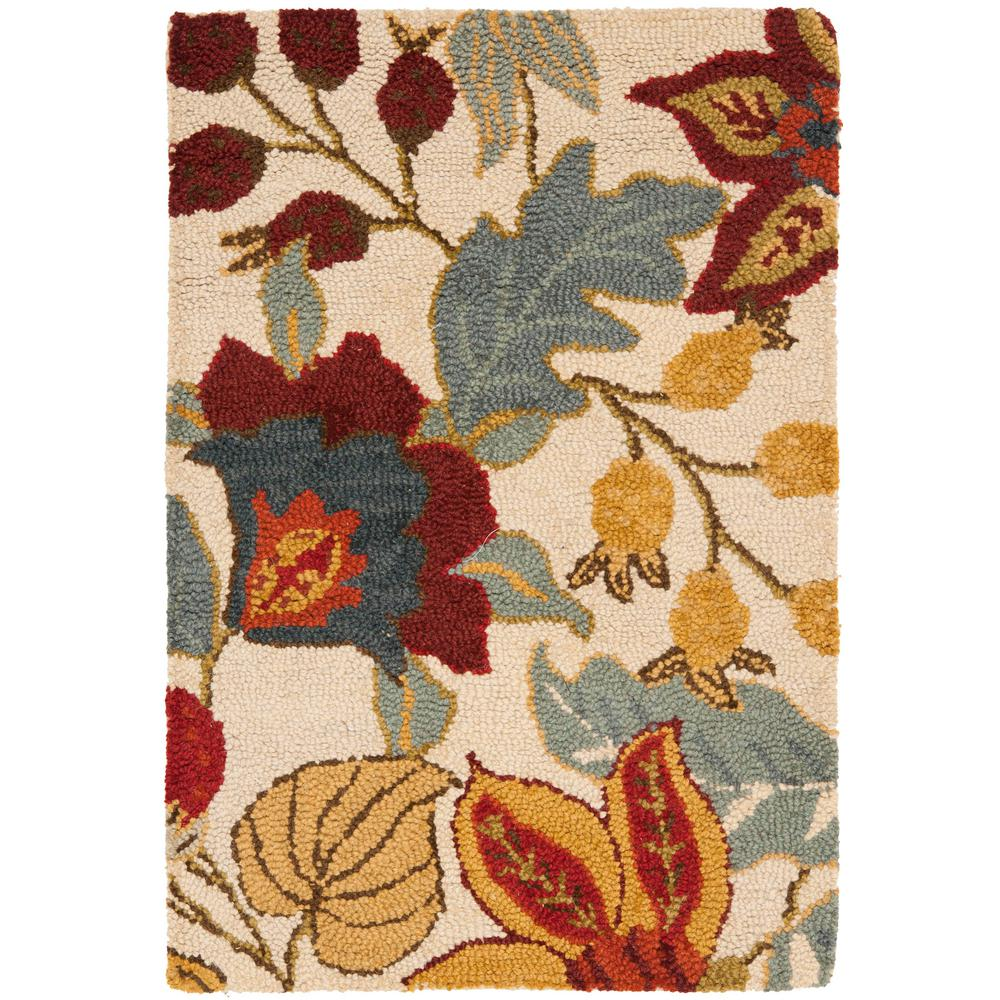 Blossom Ivory/Multi 2 ft. x 3 ft. Area Rug