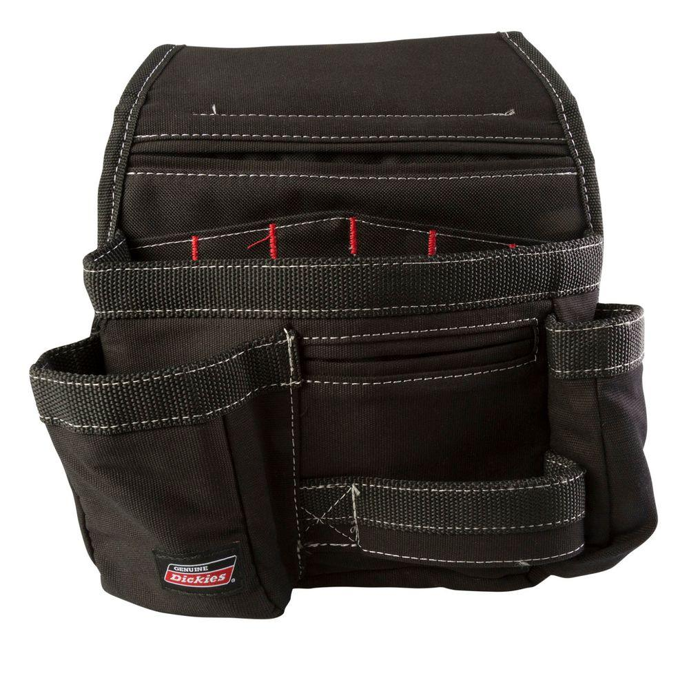 11-Pocket Construction Tool Pouch / Holder, Black