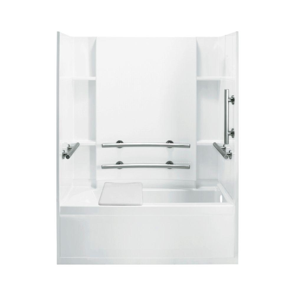 STERLING Accord 32 in. x 60 in. x 74 in. Bath