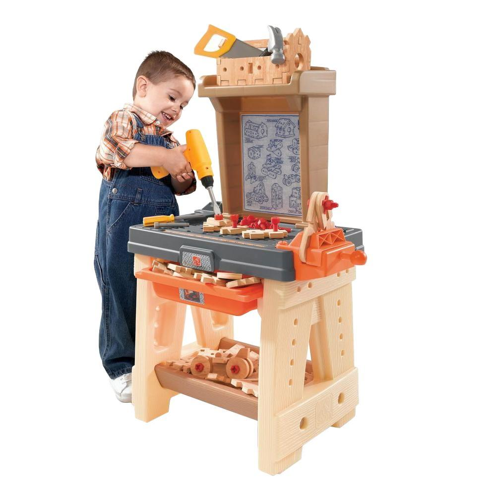 Step2 Real Projects Workshop Playset-762700 - The Home Depot