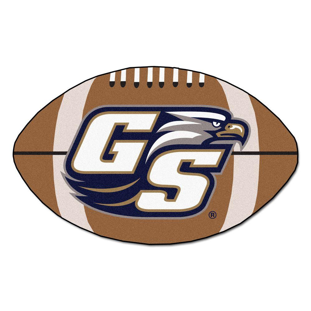 Fanmats Ncaa Georgia Southern University Brown 1 Ft 10 In