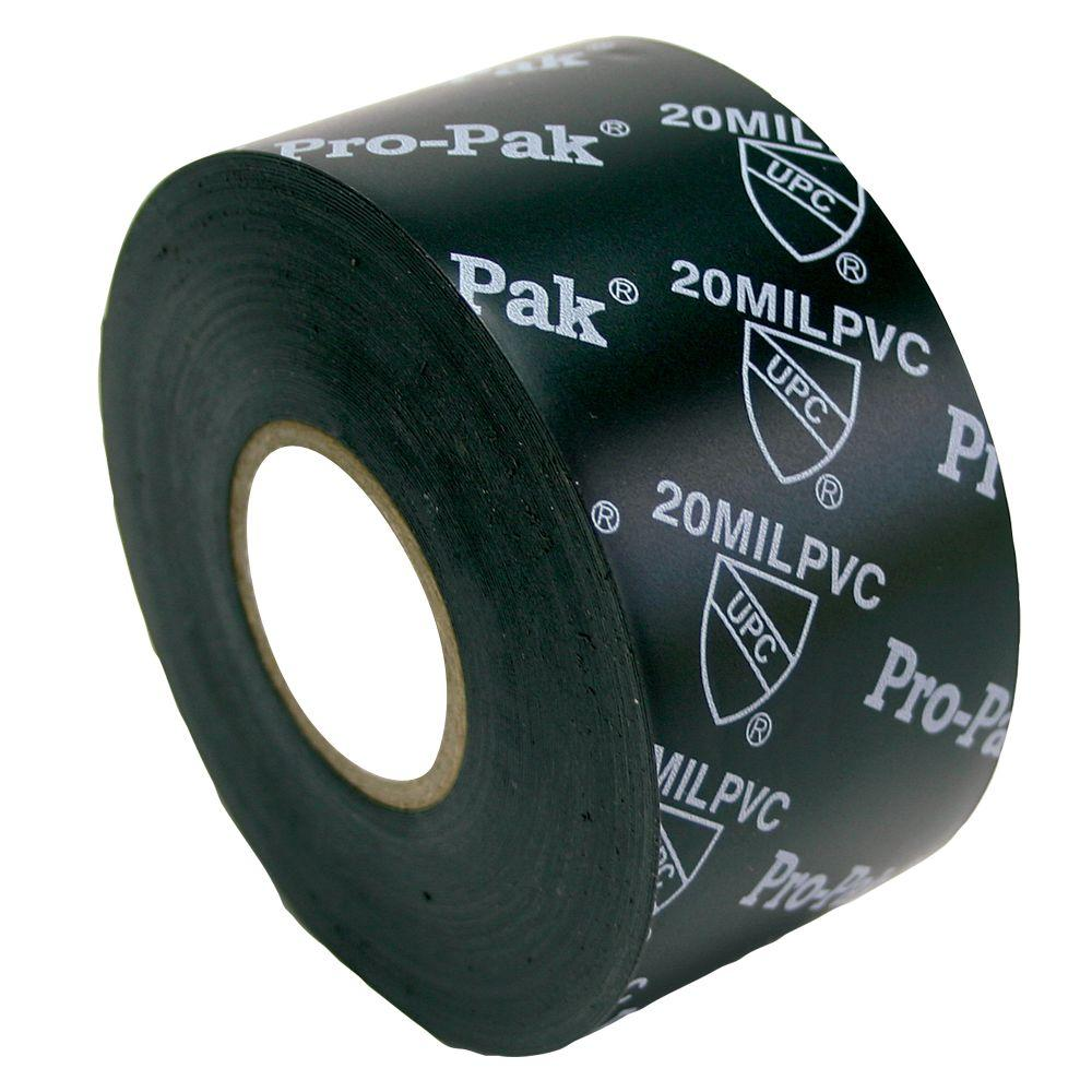 null 2 in. x 50 ft. 20 Mil Pipe Wrap Tape