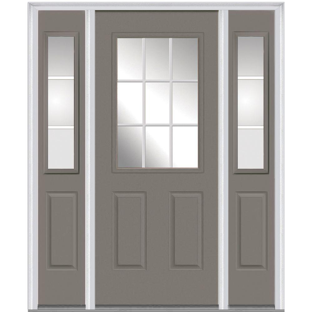 Milliken Millwork 68.5 in. x 81.75 in. Classic Clear Glass GBG