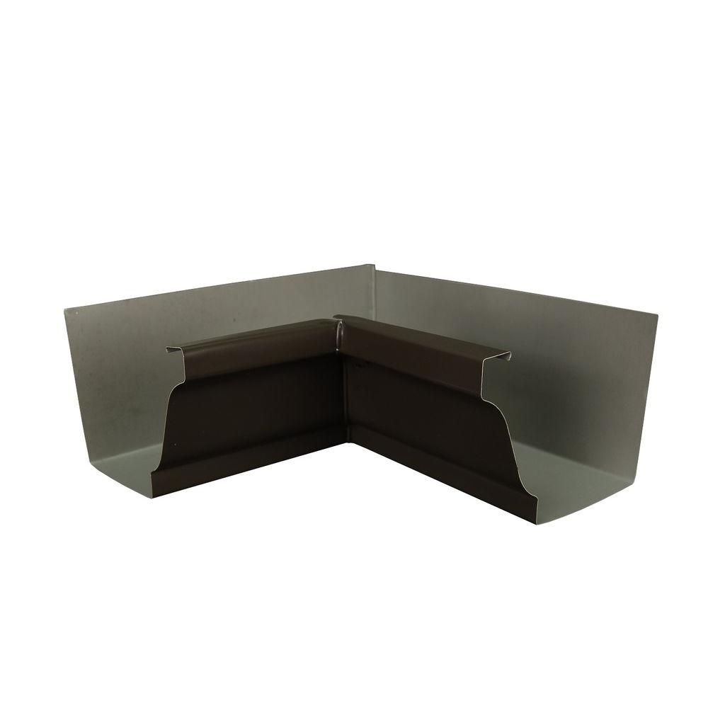 5 in. Dark Bronze Aluminum Inside Miter Box