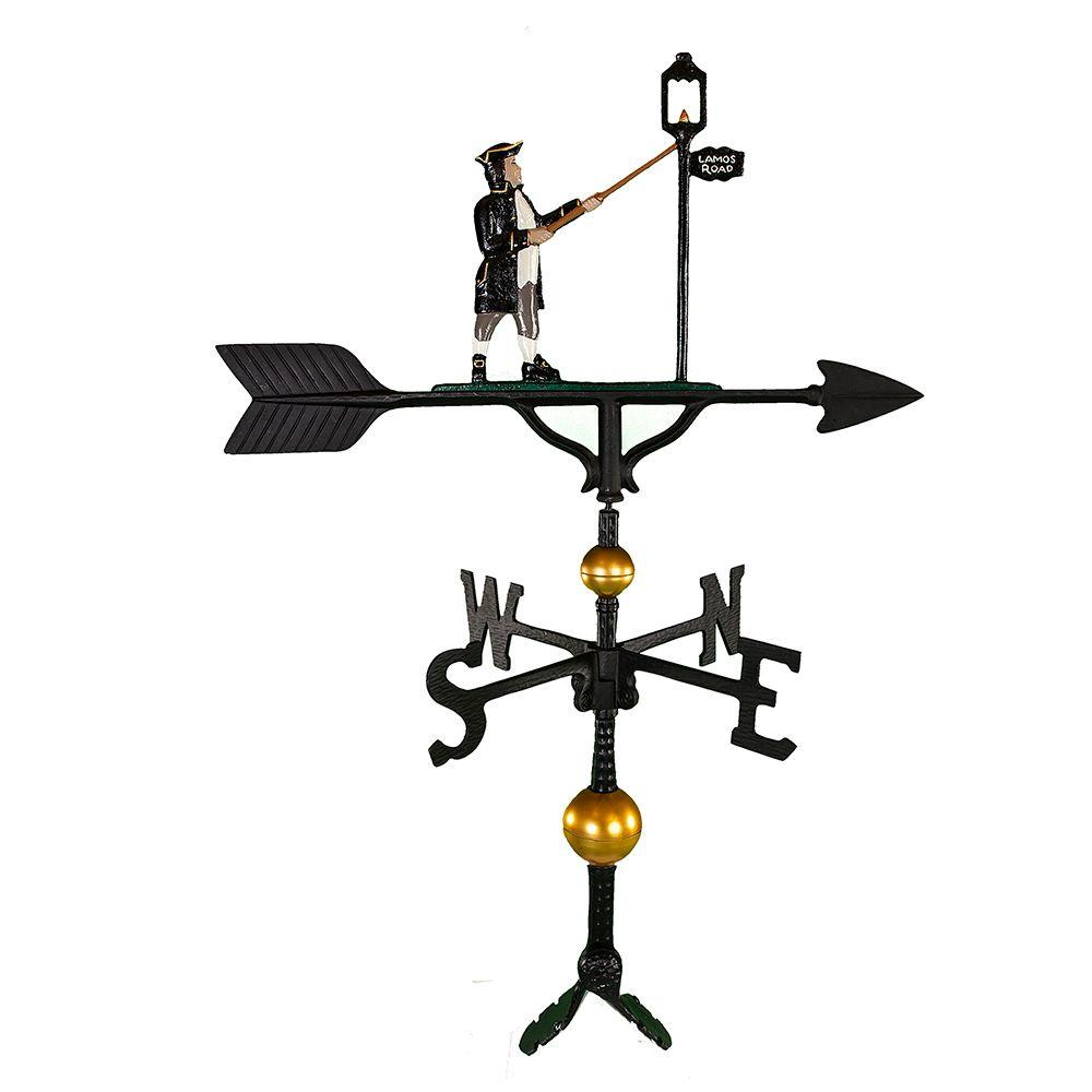 32 in. Deluxe Color Lamplighter Weathervane