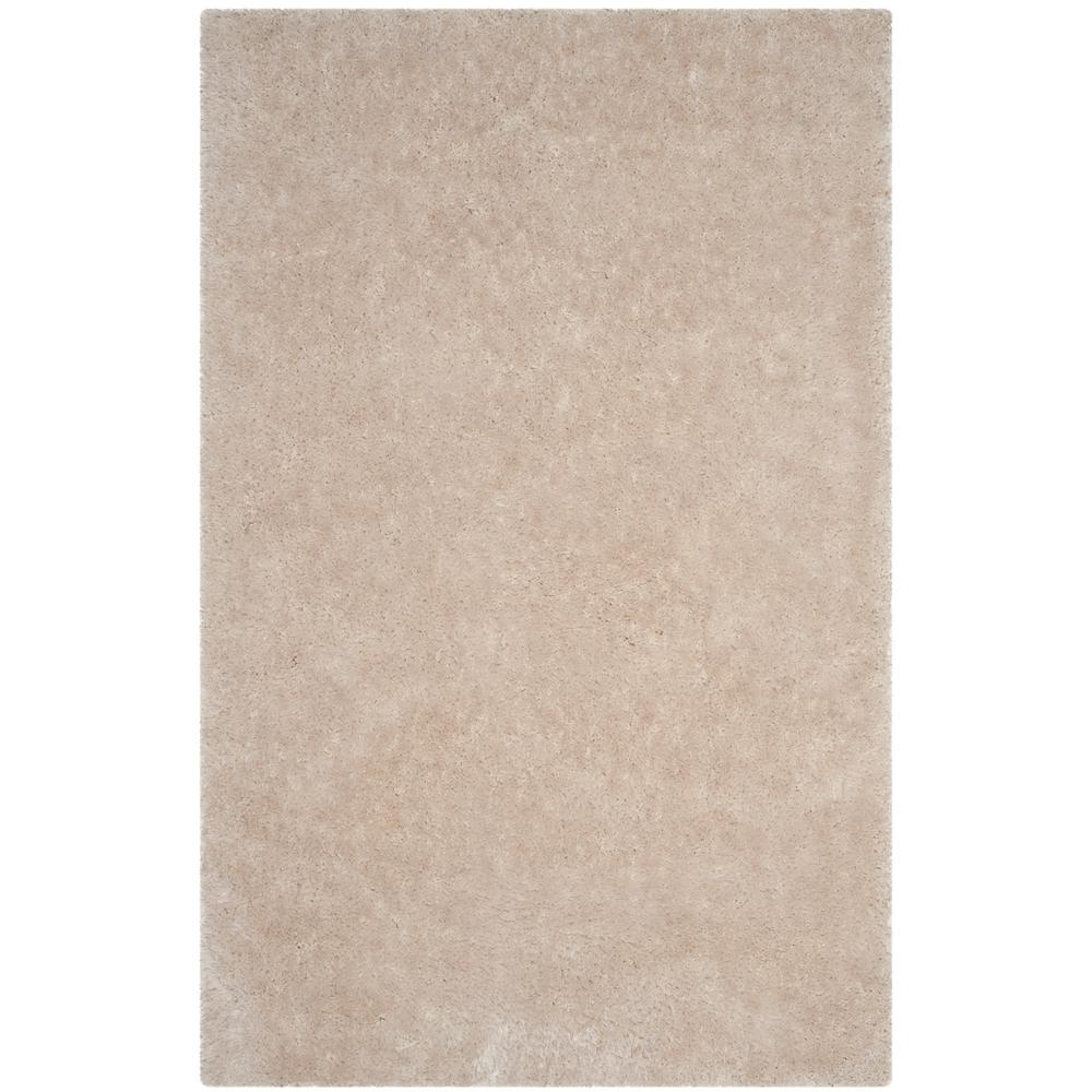 Luxe Shag Bone 8 ft. x 10 ft. Area Rug