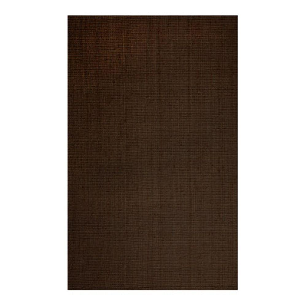 Lanart Overstocks Natural Chic Espresso 7 ft. 6 in. x 9 ft. 6 in. Area Rug