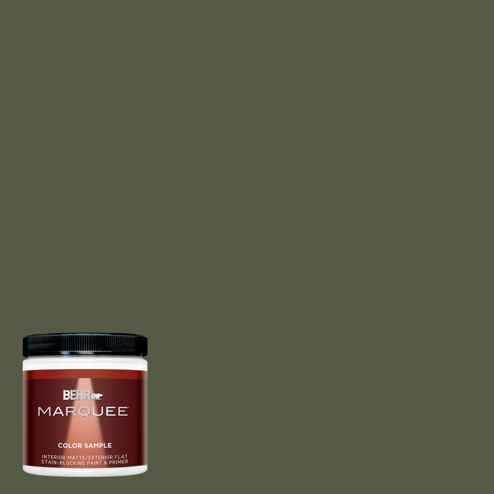 BEHR MARQUEE 8 oz. #MQ6-54 River Forest Interior/Exterior Paint Sample