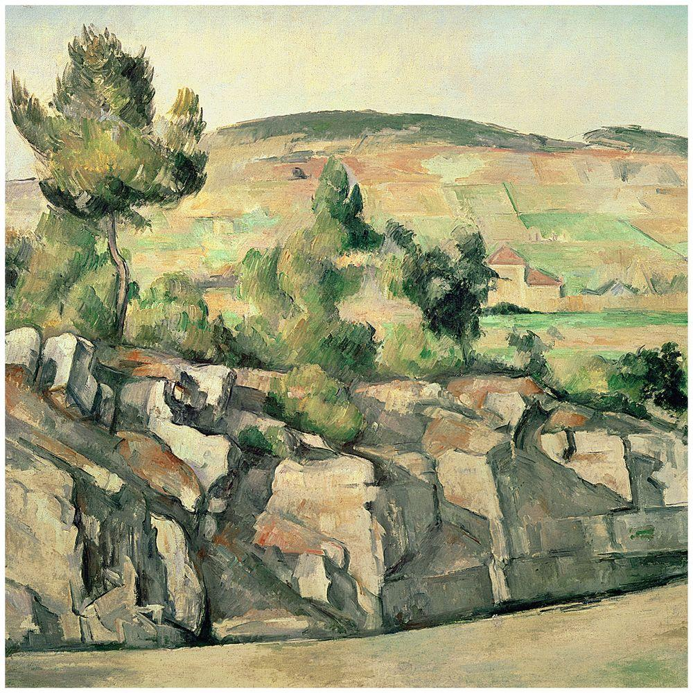 26 in. x 32 in. Hillside in Provence 1886 Canvas Art