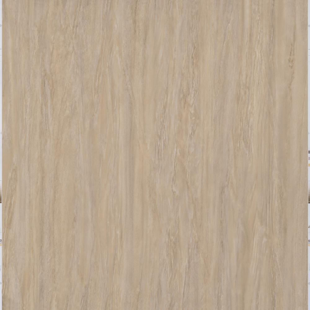 Trafficmaster Take Home Sample Light Brown Travertine Peel And Stick Vinyl Tile 5 In X 7 In