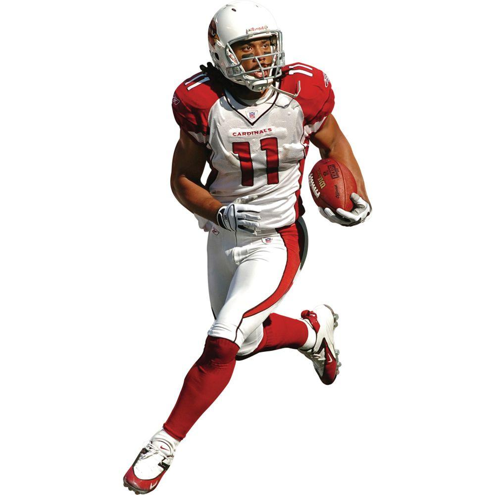 Fathead 39 in. x 77 in. Larry Fitzgerald Wall Decal