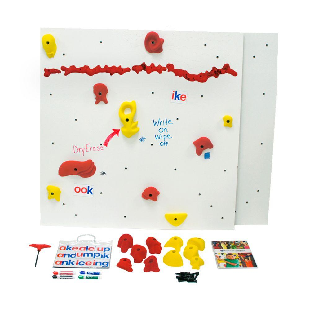 Everlast Climbing DIY Indoor Climbing Wall Discovery Dry-Erase Panel